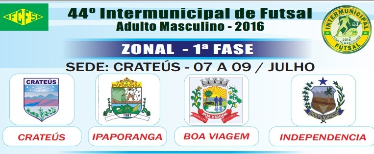 Zonal de Crateús abre as disputas do Intermunicipal de Futsal 2016