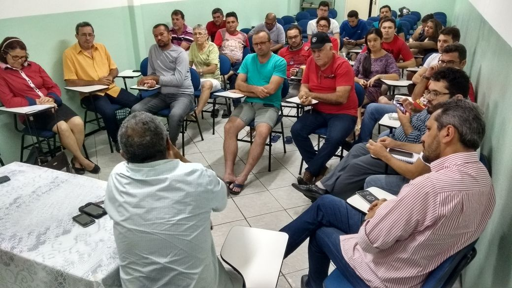 Mandato Popular do vereador Washington promoveu encontro com o deputado Elmano